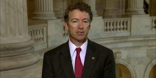 "Rand Paul Trying To Add ""Personhood"" Amendment To Flood Insurance Bill"