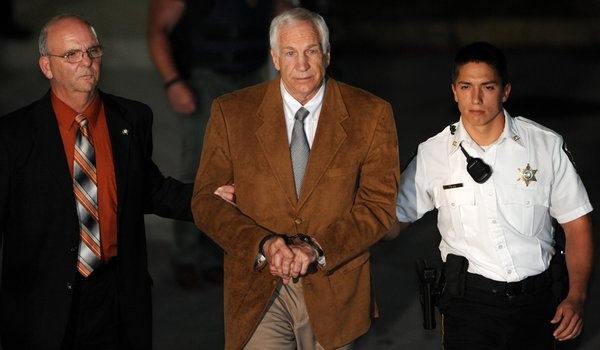 Sandusky in Shackles