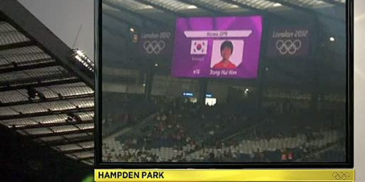 Flag Error At Olympics Raises North Korean Ire