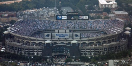 "Democrats Afraid To Call ""Bank Of America Stadium"" By Its Proper Name"