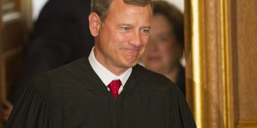 Report: Roberts Switched Positions On The Individual Mandate In May.