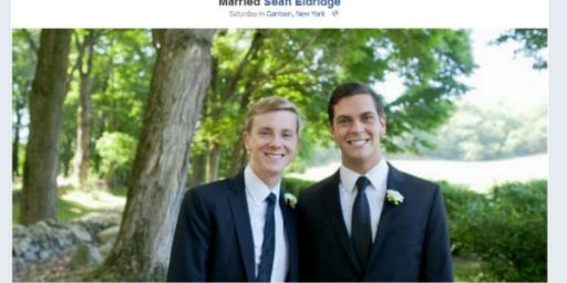 Wedding Of Facebook Co-Founder Leads Facebook To Add Same-Sex Marriage As Status Option