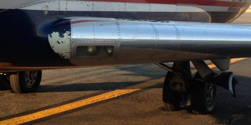D.C. Area Heat Causes Tarmac At National Airport To Soften, Trapping Plane