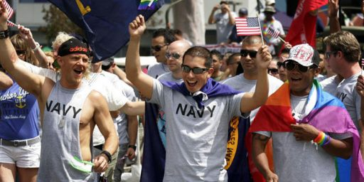 Military Lets Troops Wear Uniforms for Gay Pride Parade