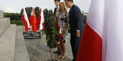 Romney Press Aide Loses His Cool In Poland