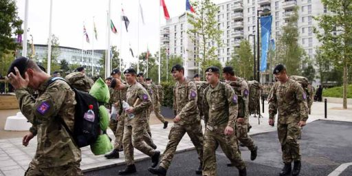More British Troops At The Olympics Than In Afghanistan