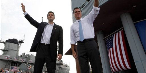 "Romney Campaign Vetters Examined ""Several"" Years Of Veep Pick Tax Returns"