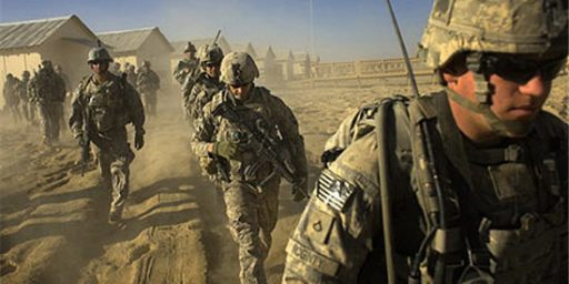 U.S. To Halt Withdrawal Of Forces From Afghanistan