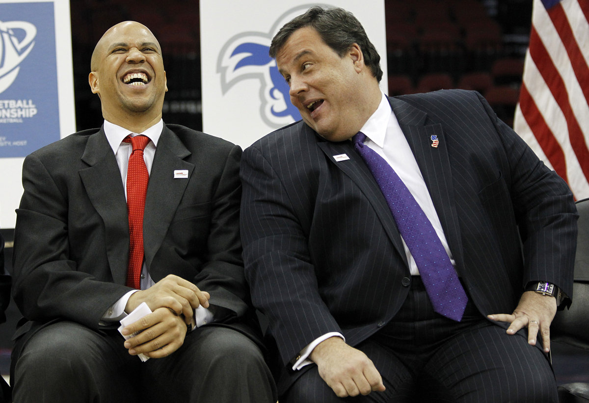 Chris Christie Cory Booker