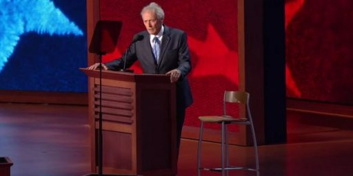 Nobody On Team Romney Taking Credit, or Blame, For The Eastwood Fiasco