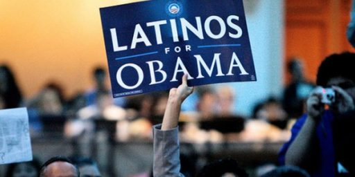 Obama Continues To Hold Huge Lead Over Romney Among Latinos