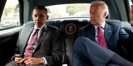 """Time For Another Round Of Pointless """"Will Obama Dump Biden?"""" Speculation"""