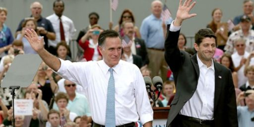 Gallup: No Significant Ryan Bounce For Romney