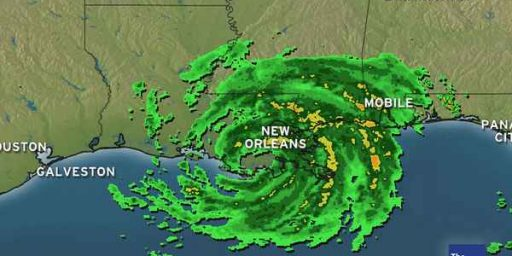 Hurricane Isaac Pounds Louisiana, Mississippi