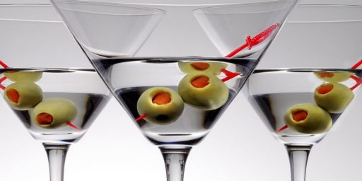 Bring Back The Three Martini Lunch!