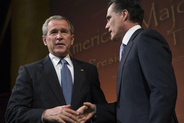 Bush Romney