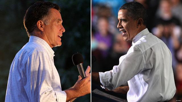Obama Romney 2