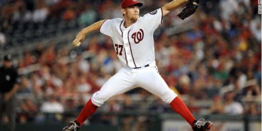 On The Verge Of Making The Playoffs, Washington Nationals Bench Their Star Pitcher