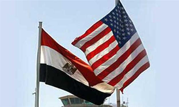 US Egyptian Flags