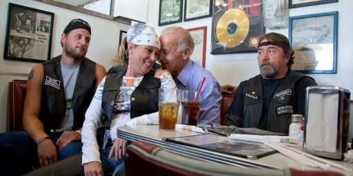 Joe Biden And The Biker Chick