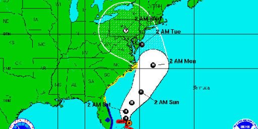 East Coast, Political Campaigns, Brace For Hurricane Sandy