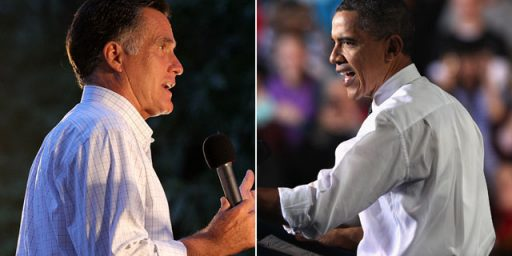 New Battleground Polls Show Slight Romney Surge