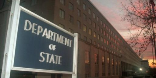 White House Throwing State Department Under The Bus?