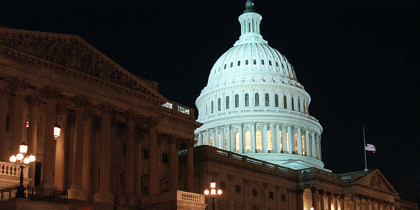 Capitol at night - AP Photo Ron Edmonds - banner
