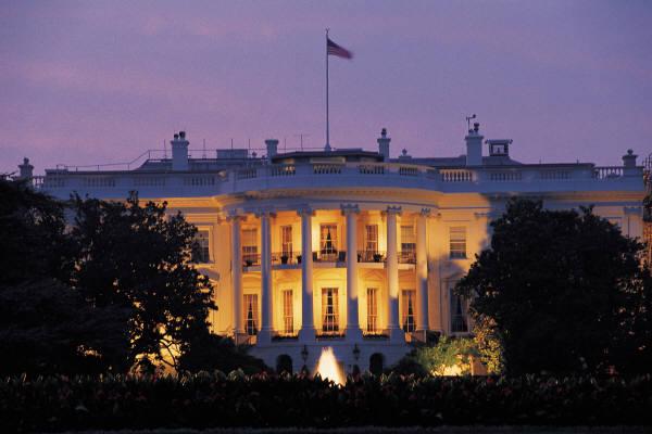 White House Dusk