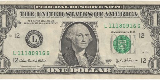 Will Congress Finally Eliminate The Dollar Bill?