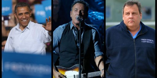 Obama, Christie, and Springsteen: Superstorms Make Strange Bedfellows