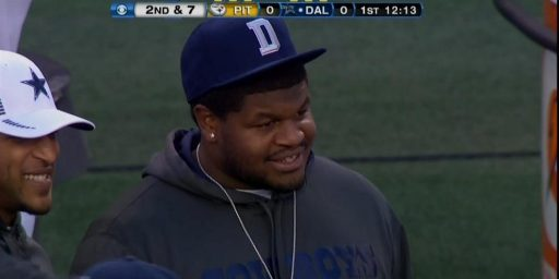 Cowboys Under Fire For Allowing Josh Brent On Sideline During Sunday's Game
