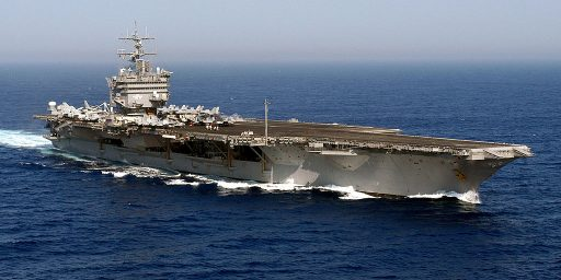USS Enterprise, First Nuclear Powered Aircraft Carrier, Taken Out Of Service