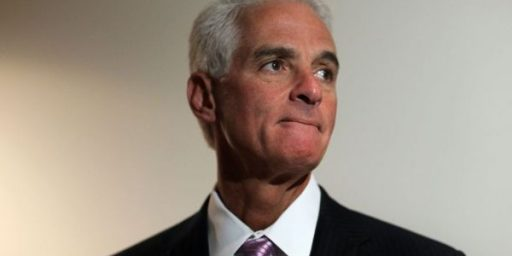 Charlie Crist Officially a Democrat