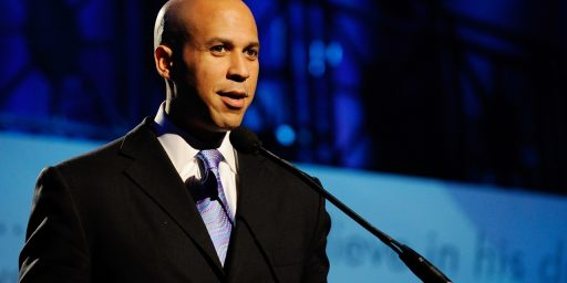 Cory Booker Remains Way Ahead In Least Suspenseful Race Of 2013