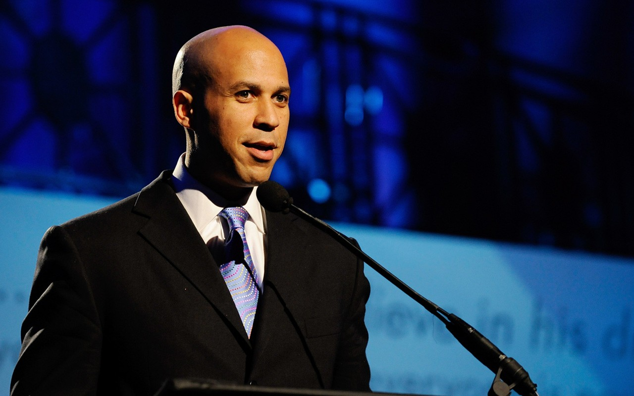Cory Booker preaches hate