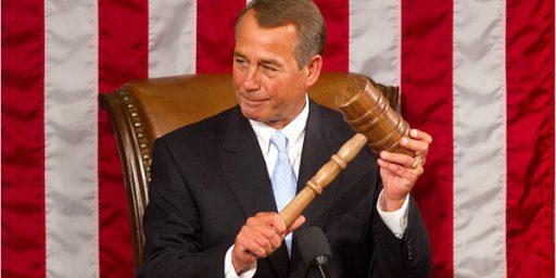 Boehner Strips Foes of Plum Posts