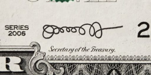 Jack Lew Finally Has A (Mostly) Legible Signature