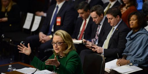 GOP Swings And Misses At Clinton Benghazi Hearings
