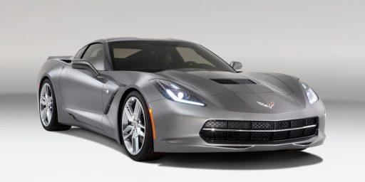 Corvette Stingray Redesign