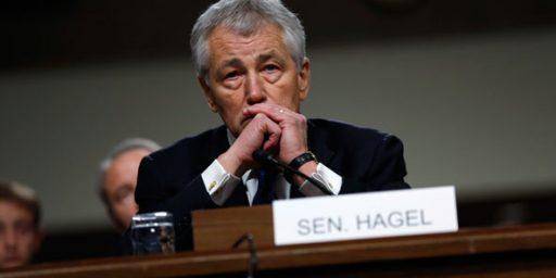 Republicans Blocking Hagel Nomination, For Now