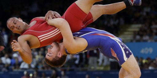 Donald Rumsfeld To The IOC: Reinstate Wrestling As An Olympic Sport