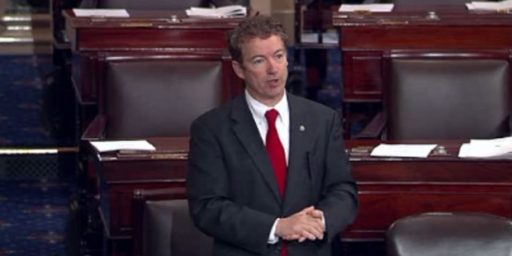 Rand Paul Says He Won't Support Senate Immigration Reform Bill