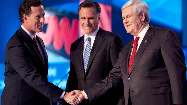 Santorum-Romney-Gingrich