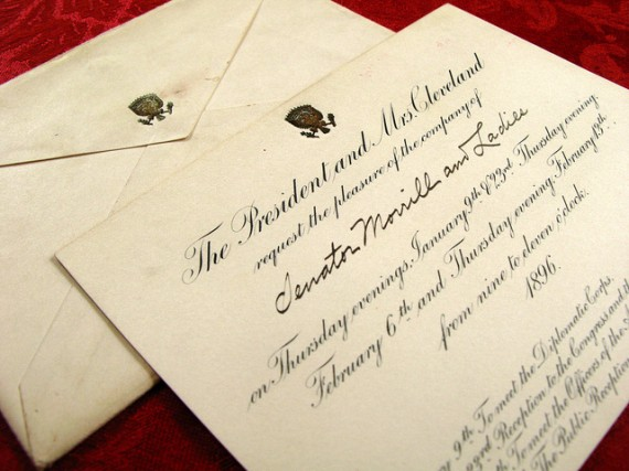 white-house-invitation-grover-cleveland