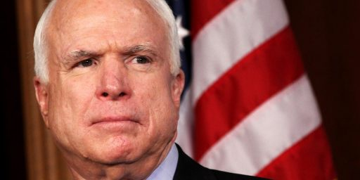 Just This Once, John McCain Is (Partly) Right