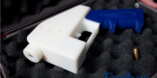 3D-Printed Gun Successfully Fired