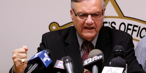 Joe Arpaio for Senate?