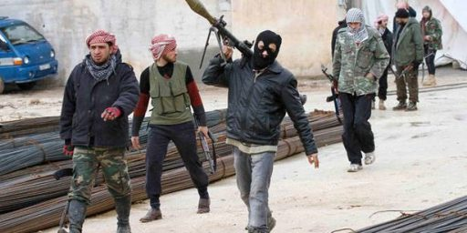 Arming The Syrian Rebels Not Likely To Accomplish Anything