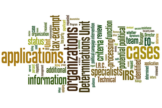 TIGTA IRS Audit Wordle